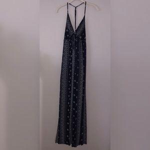 Aztec Pattern Maxi Dress